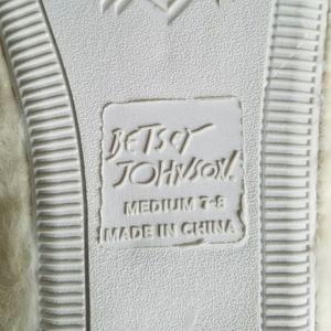 Betsey Johnson Shoes - Betsey Johnson Open Toe Scuff Slippers